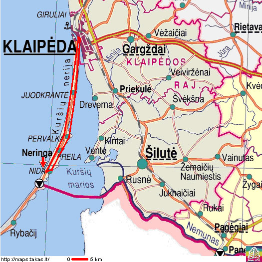 Tours with guide Igoris Osnac Klaipeda TIC